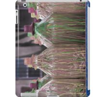 Colorful Wax Dripped over Bottles as Part of a Carnival Game iPad Case/Skin