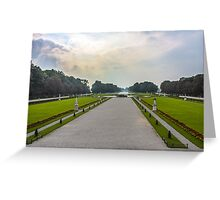 View from Schloss Nymphenburg (Nymphenburg Palace) Greeting Card