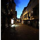 York street (colour) by stephane j. allier