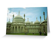 The Royal Pavilion Brighton Greeting Card