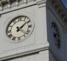 Courthouse Clock Sticker