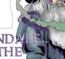 Gandalf the grey Sticker
