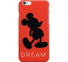 Dream- Red (phone fit) iPhone Case/Skin