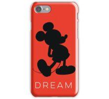 Dream- Red (phone fit) iPhone Case/Skin
