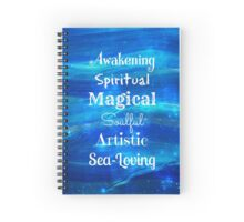 Awakening Spiritual Magical Soulful Artistic Sea-Loving Spiral Notebook