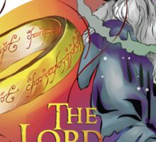 LotR - Gandalf and the Ring Sticker