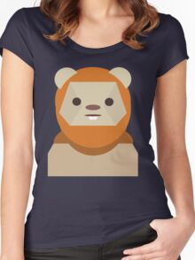 Ewok Appreciation Women's Fitted Scoop T-Shirt
