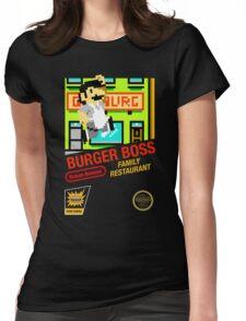 Burger Boss Womens Fitted T-Shirt