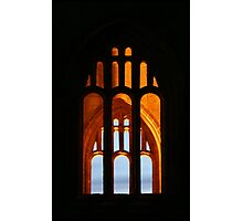 Fountains Abbey Window Photographic Print