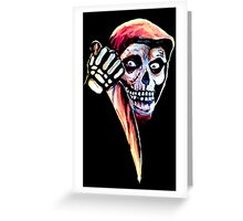 The Halloween Fiend Greeting Card