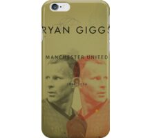 Ryan Giggs - Manchester United iPhone Case/Skin