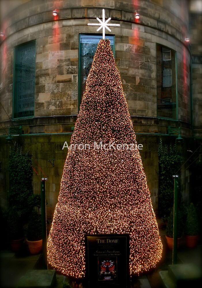 Christmas in Edinburgh Scotland. by Aaron McKenzie