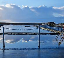 Clouds Along The Slipway by Susie Peek