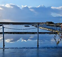 Clouds Along The Slipway by Susie Peek