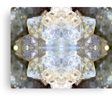 Diamond Star (Quartz Geode) Canvas Print