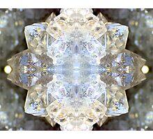 Diamond Star (Quartz Geode) Photographic Print