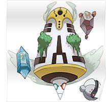 Pokemon Regi Trio Fusion Poster