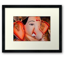 Moods of Lord Ganesh #5 Framed Print
