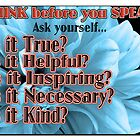 Think Before You Speak by hcorrigan