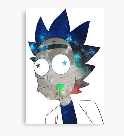Space Rick Canvas Print