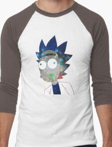 Space Rick Men's Baseball ¾ T-Shirt