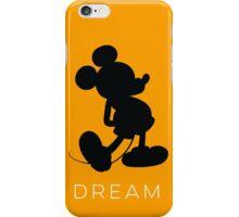 Dream- Orange (phone fit) iPhone Case/Skin