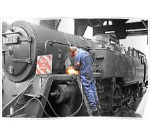 Locomotive Restoration Poster