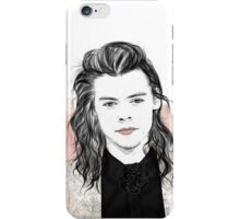 Harry flowersuit iPhone Case/Skin