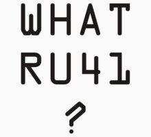 What RU41 by Santa73