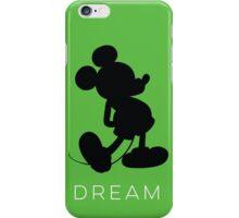Dream- Green (phone fit) iPhone Case/Skin