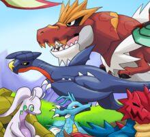 Pokemon: Dragons Unite poster/print Sticker