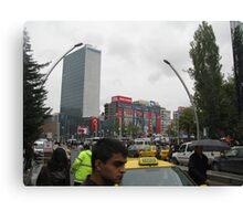 Kızılay square,Ankara Canvas Print