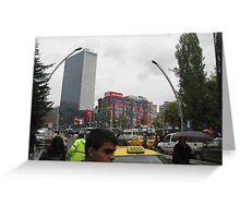 Kızılay square,Ankara Greeting Card