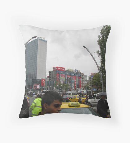 Kızılay square,Ankara Throw Pillow