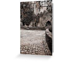 Malahide Castle grounds Greeting Card
