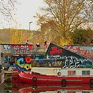 Canal du Midi, Péniches et Tags by jul-b