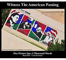Witness Photographic Print
