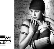 B&W Urban Tribes/Esther 1995 by carlosandesther photographic