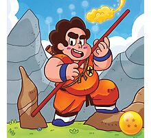 Son Steven? Stevoku? Or Gokuven? Photographic Print