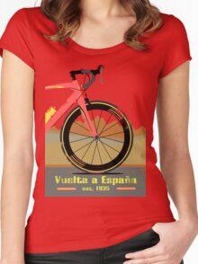 Vuelta a España Bike Women's Fitted Scoop T-Shirt
