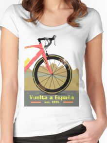 Vuelta a España Bike Women's Fitted Scoop T-Shirt