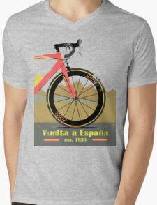 Vuelta a España Bike Mens V-Neck T-Shirt