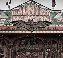 Haunted Mansion at a Carnival by laurenelisabeth