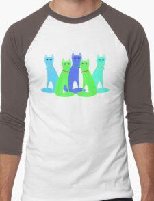 Cool Cats Men's Baseball ¾ T-Shirt