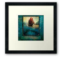 The Secret of the Sea Framed Print