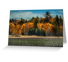 Wisconsin Autumn Greeting Card