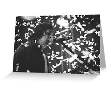Vic Fuentes of Pierce The Veil Greeting Card