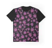 Pink Kush (Leaves in the wind) Graphic T-Shirt
