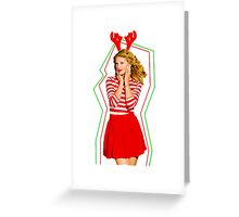 Merry Christmas Taylor Swift Greeting Card