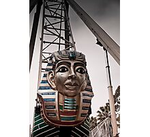 King Tut Swing at a Carnival Photographic Print